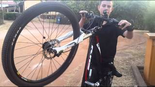 How to do a wheelie on a mountain bike easy
