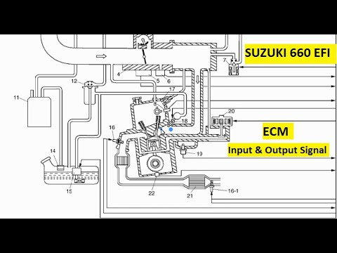 [SCHEMATICS_48IU]  Suzuki multicab Input & Output components of ECM - YouTube | Wiring Diagram Of Suzuki Multicab |  | YouTube