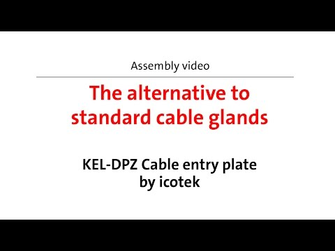 A real alternative to standard cable glands!