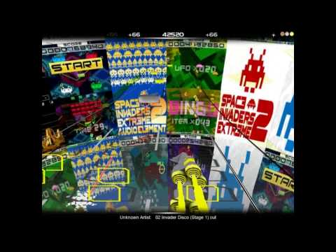 Audiosurf - Space Invaders Extreme 2 - 2of21.Invader Disco [stage 1] - OST - music soundtracks