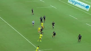 Highlights: Action packed day one at the Singapore Sevens