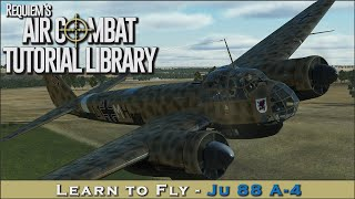 Learn to fly the Junkers 88 A-4
