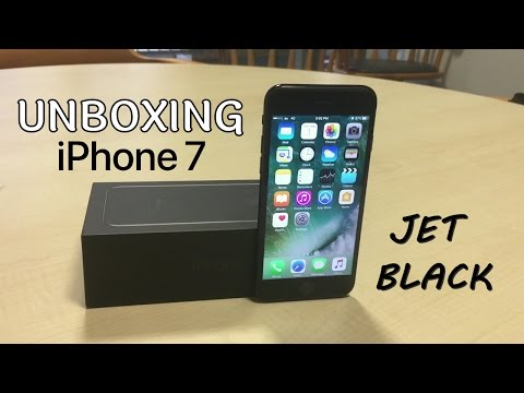 Unboxing iPhone 7 JET BLACK (Bahasa Indonesia) - Japan Edition