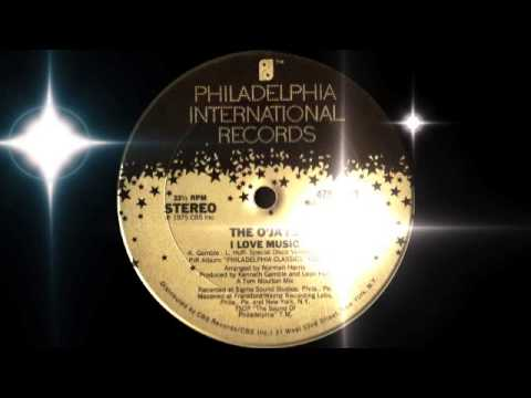 The O'Jays - I Love Music (Philadelphia Intern. Records 1975)