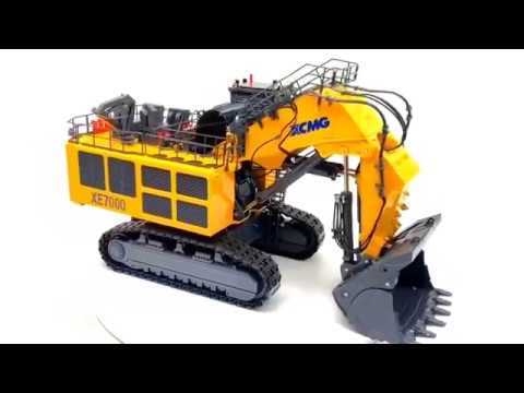 1/50 XCMG Official 700ton Mining Excavator XE7000 Diecast Scale Model.