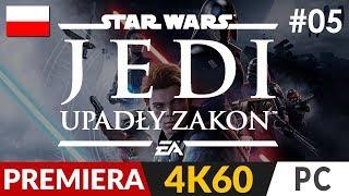 Star Wars Jedi: Upadły zakon  #5 (odc.5) ✨ IQ 200 i grobowiec 100% | Fallen Order PL Gameplay 4K
