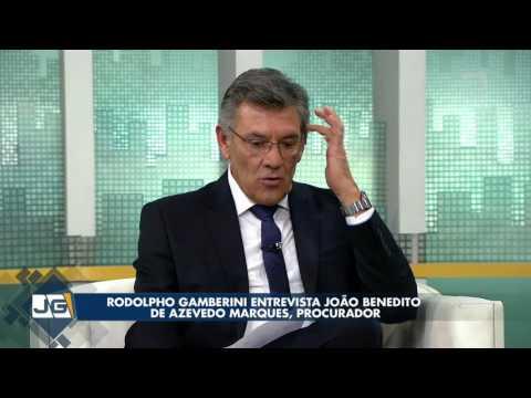 Rodolpho Gamberini entrevista João Benedito de Azevedo Marques, procurador