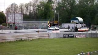 1987 Buick Grand National TA Performance block drag racing.