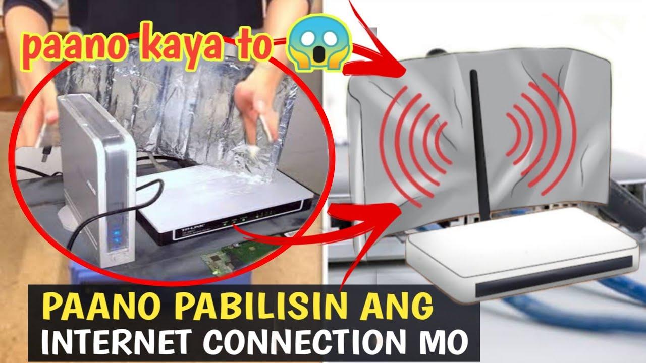 PAANO MAGING MABILIS ANG INTERNET CONNECTION MO (alamin sa videong ito?