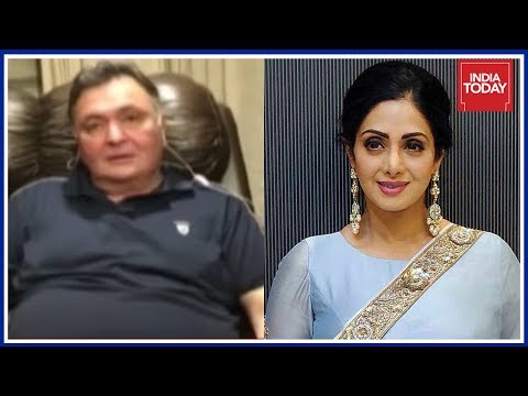 Farewell Sridevi : Rishi Kapoor Shares Memories Of Working With Sridevi