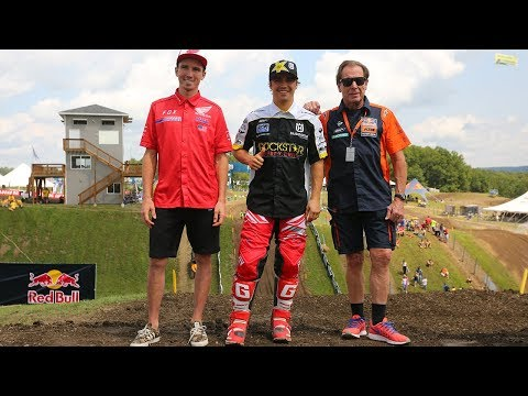 Roger Decoster on Team USA MXdN 2017 - Cole Seely, Zach Osborne, and Thomas Covington