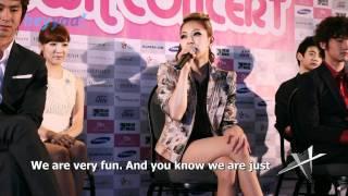 SMTown LA Press Conference (Part 1) BoA, Kangta, and SM President (English sub) - heyyaa! HD - Stafaband