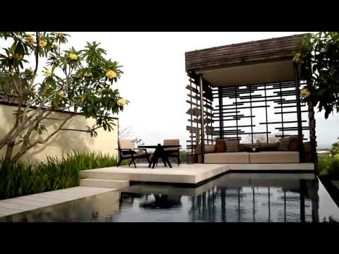Alila Villas Uluwatu . Bali by  WOHA architects