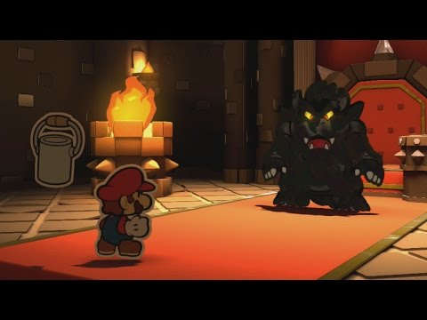 Final Boss, 100% Ending, Credits - Paper Mario: Color Splash Walkthrough