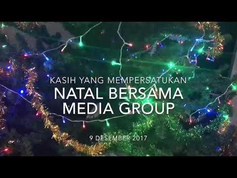 Natal Media Group 2017 (Musik dari Group Band Urban Cross JC, pimpinan anakku Michael Riady Paat)