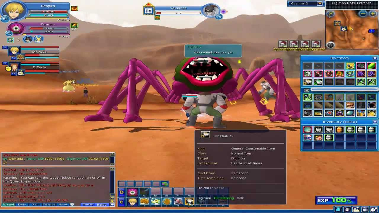 Play Digimon a free online game on Kongregate