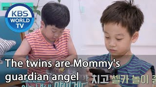 The twins are Mommy's guardian angel [Stars' Top Recipe at Fun-Staurant/ENG/2020.10.20]