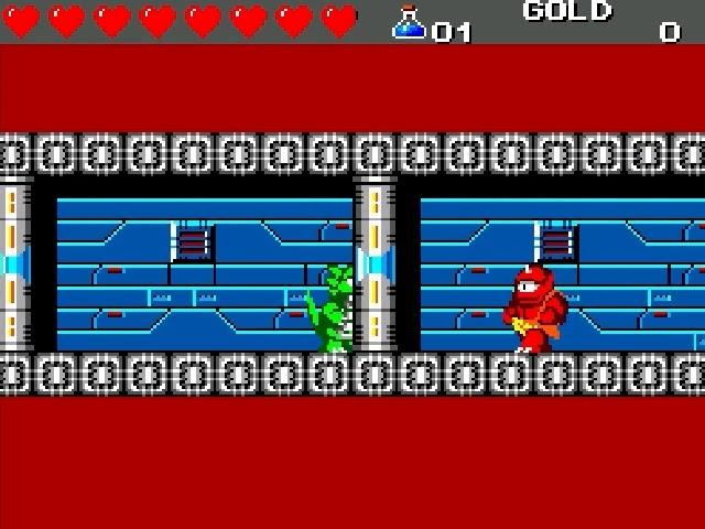 Jouez à Wonder Boy III - The Dragon's Trap sur Sega Master System