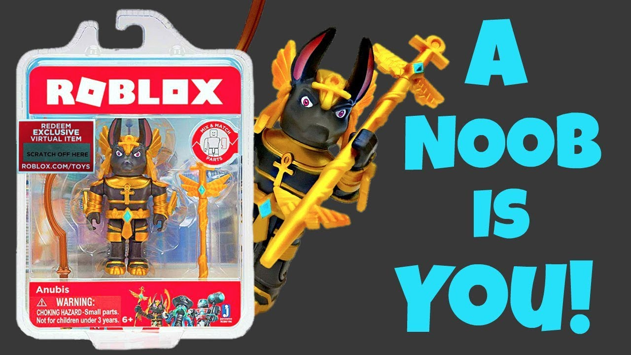 Roblox Toy Anubis Code Item Unboxing Toy Review Youtube