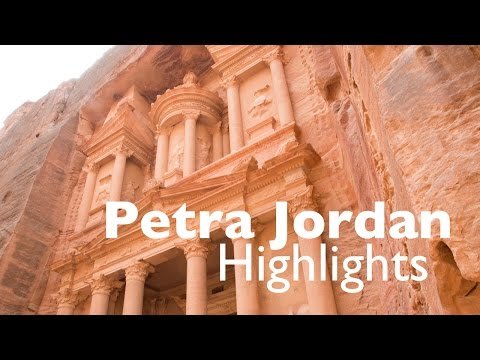 Ancient City of Petra Jordan Highlights and Tips Vlog