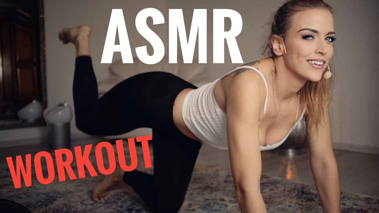 Gina Carla 🤯 Workout 🏋️♀️ ASMR! Breathing Working Whispering.