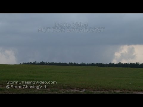 Large Tornado in Granville County, NC - 2/24/2016