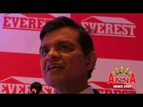 Everest Industries Indias First Manual Steel Buildings MD Press Meet Anna Tv