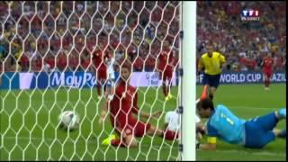 Espagne - Chili 2014 résumé