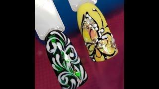 67785c80e7c3 Обзор Страз и Фольги с AliExpress. Битое Стекло.Дизайн Ногтей.Shattered  Glass Nails