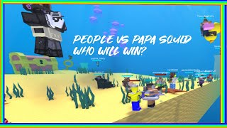(Roblox Reason 2 Die) [NEW UPDATE! SQUID BOSS] Sani vs Papa Squid