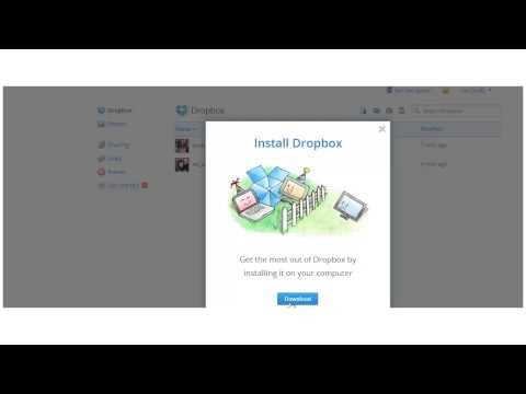 Download files from Dropbox