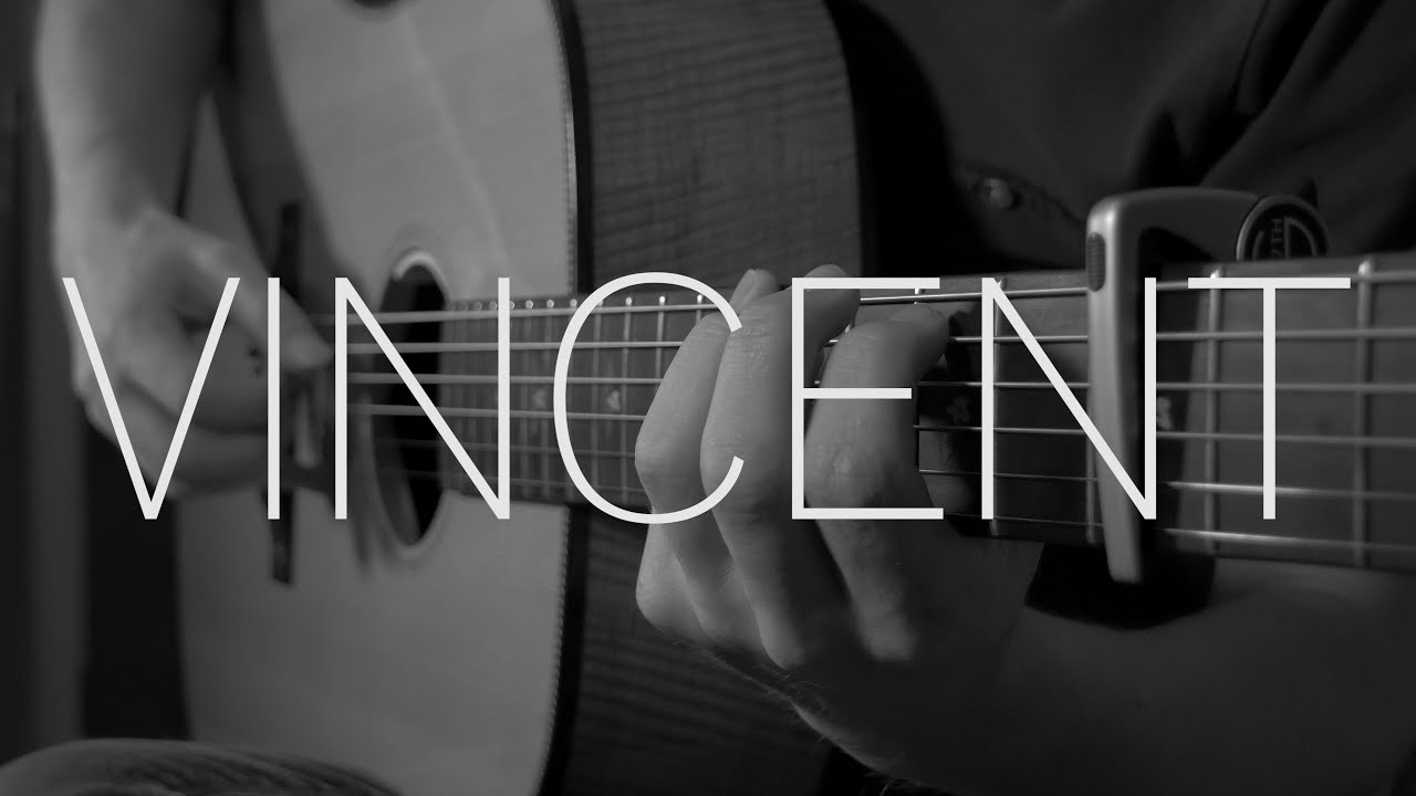 Don Mclean Vincent Starry Starry Night Fingerstyle Guitar