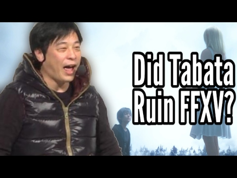 Hajime Tabata and Final Fantasy XV: Good/bad? Weird PR stunts? (FF15 spoilers)
