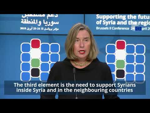 Highlights of the Conference on Supporting the future of Syria and the region