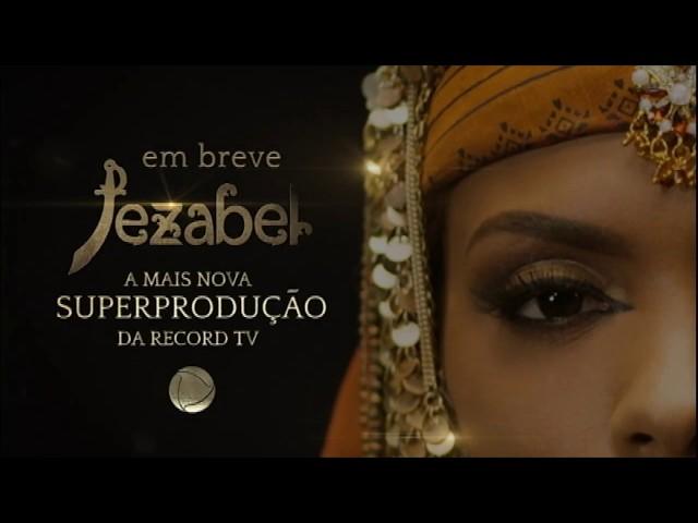 Superprodução Jezabel estreia em breve na tela da Record TV