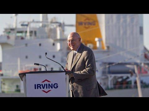Irving oil chairman confident Energy East pipeline 'will happen'