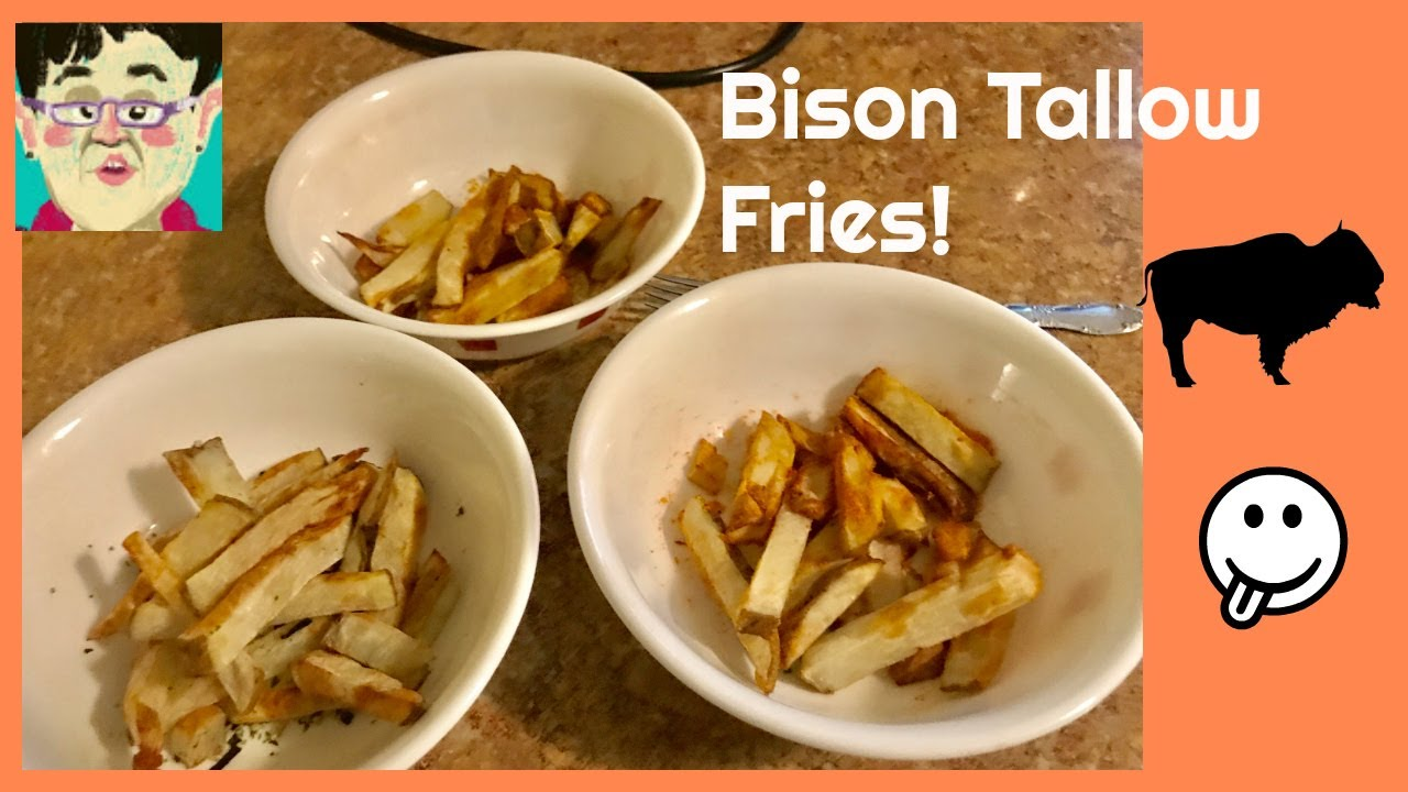 Air Fried Bison Tallow Fries Youtube