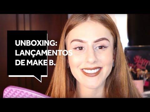 AO VIVO: Mari Maria faz Unboxing dos Lançamentos de Make B.