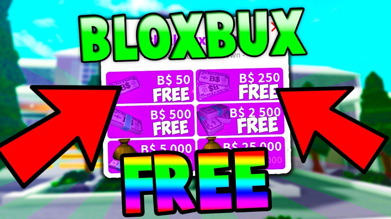 How To Get B On Bloxburg For Free Working 2019 Youtube