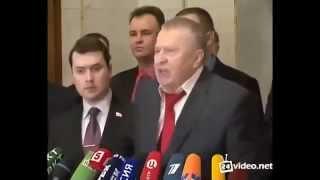 Жириновский впервые прямо и открыто высказался против Путина и всего правительства