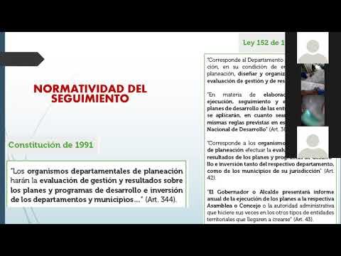 Tema: Seguimiento y monitoreo Planes de Desarrollo Territorial- PDT-Angelica Tovar primera parte