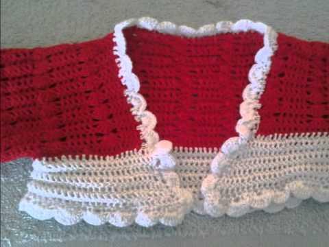 torera para niña en crochet - YouTube 4a035a04035c