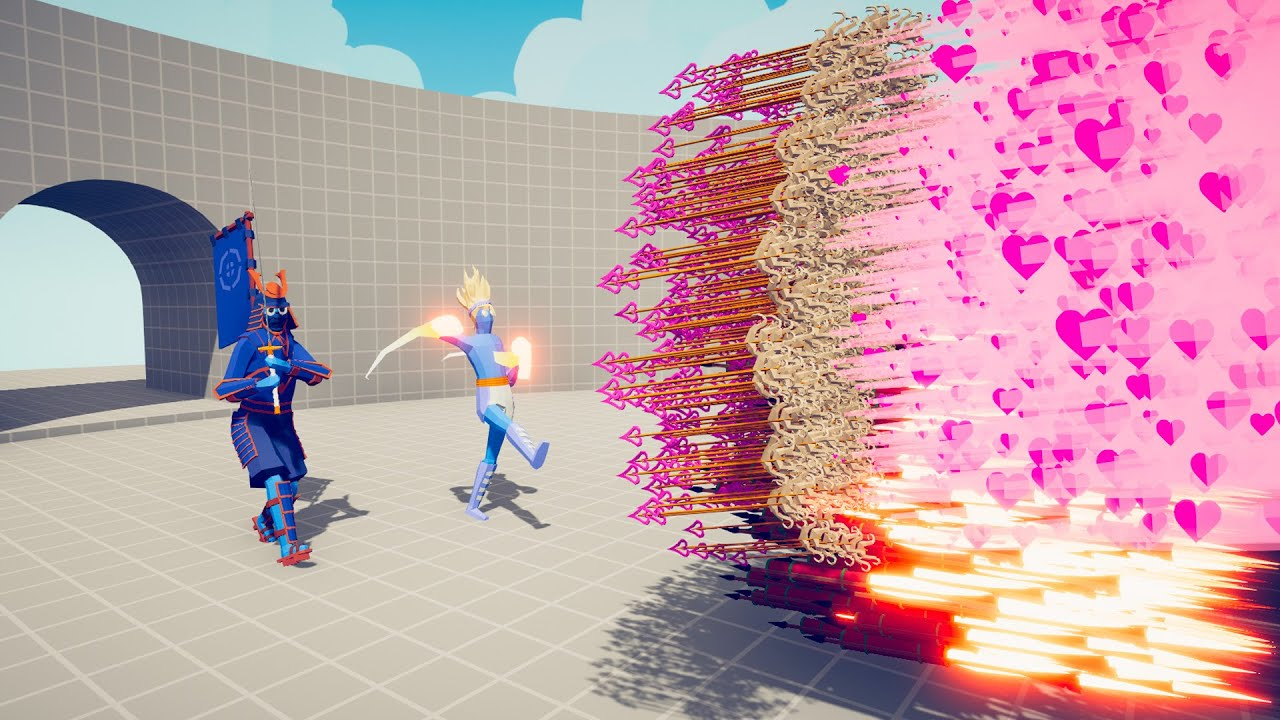 SHOGUN & SUPER BOXER vs EVERY GOD   TABS - Totally Accurate Battle Simulator