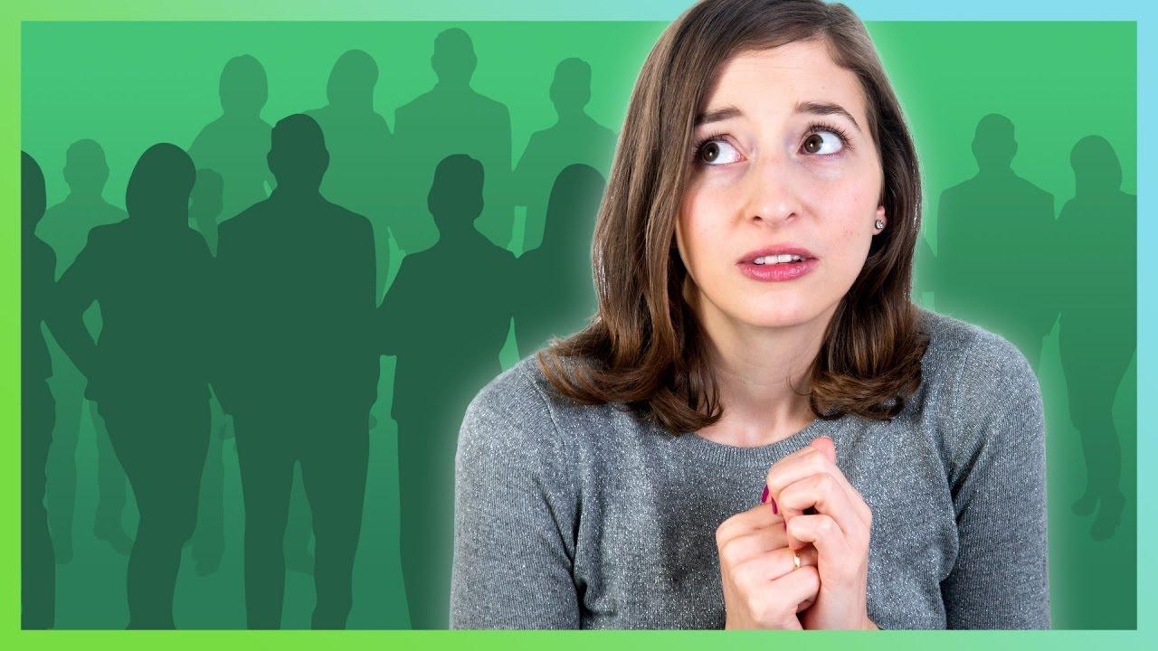 Soziale Phobie - Bin ich betroffen? - YouTube