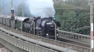 爆走するオーストリア国鉄52型蒸気機関車