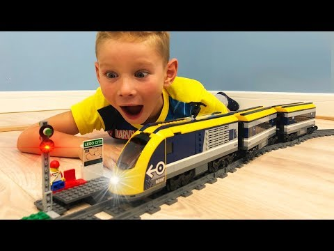 Мультфильм про поезда лего
