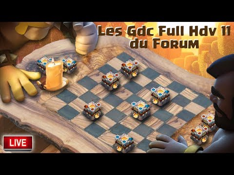 🔴 Guerre FULL HDV 11 | Clash of clans France
