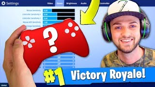 Ali-A's *SECRET* CONTROLLER REVEALED in Fortnite: Battle Royale! (+ SETTINGS)