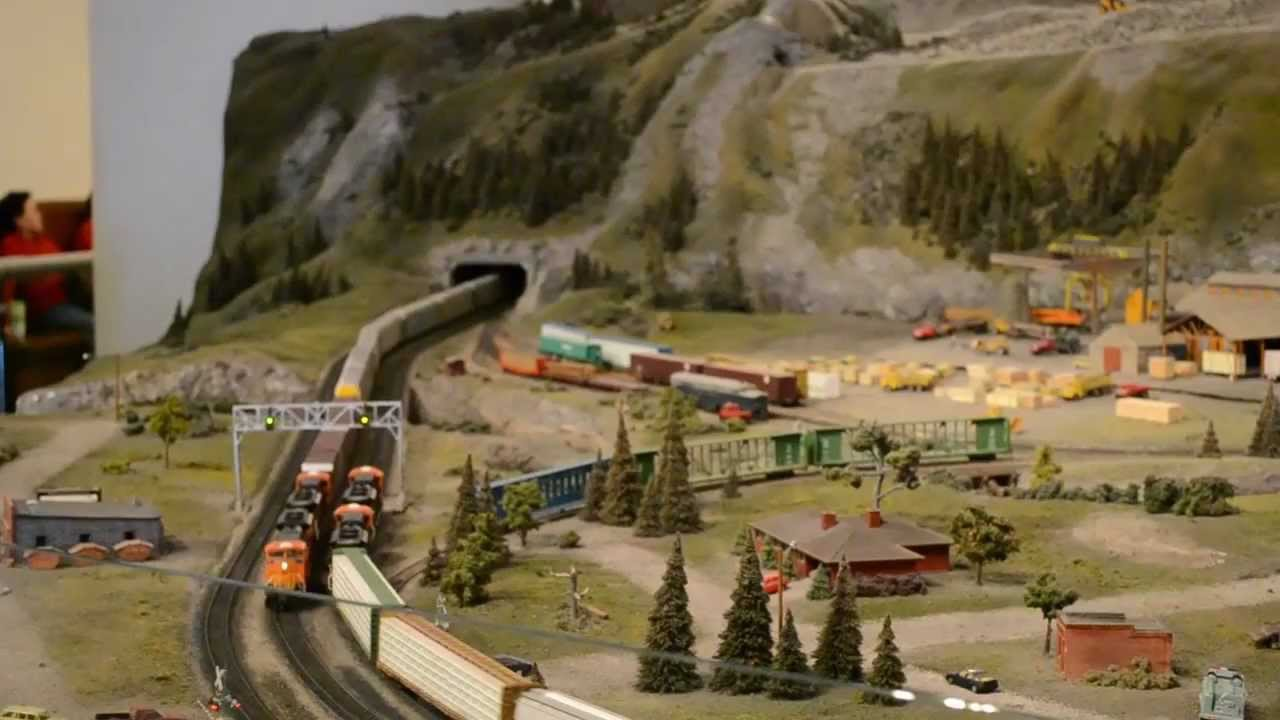 Chicago Museum Of Science And Industry Model Trains Youtube