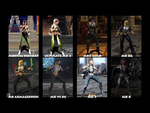 Mortal Kombat SONYA BLADE Graphic Evolution 1992-2015 | ARCADE DREAMCAST PS2 XBOX PC | PC ULTRA